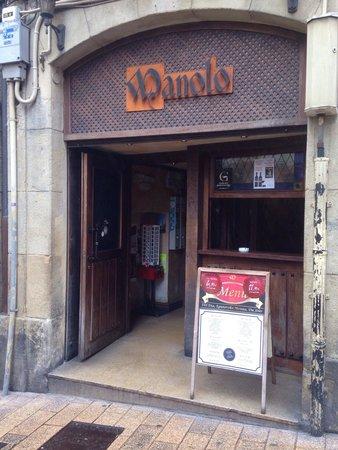 Bar Manolo : Nuestra fachada