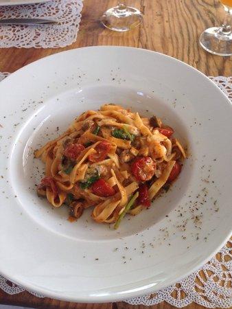 Caesar's Gardens Hotel & Spa: Chef's tagliatelle