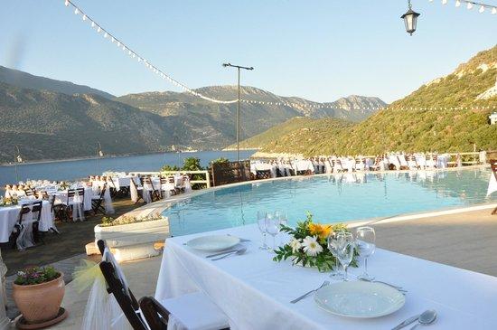 Hotel Club Barbarossa : Wedding Dinner Set Up