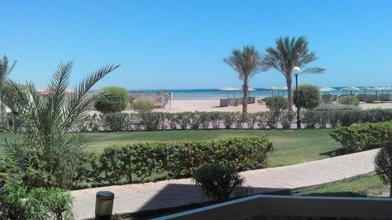 Hilton Hurghada Long Beach Resort: Værelsesudsigten