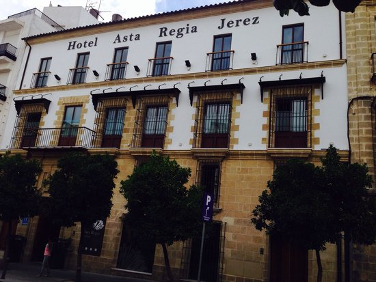 Eurostars Asta Regia: Our choice in Jerez:-)))