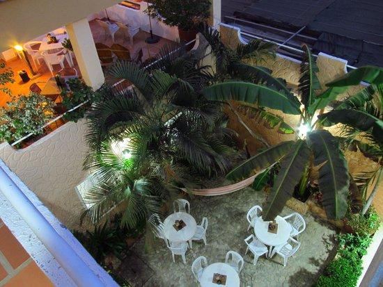 Hotel Casa D'mer Taganga : Patio central y Terraza