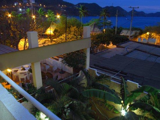 Hotel Casa D'mer Taganga : Vista a la bahía