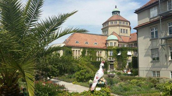 Botanischer Garten Muenchen-Nymphenburg: The entrance
