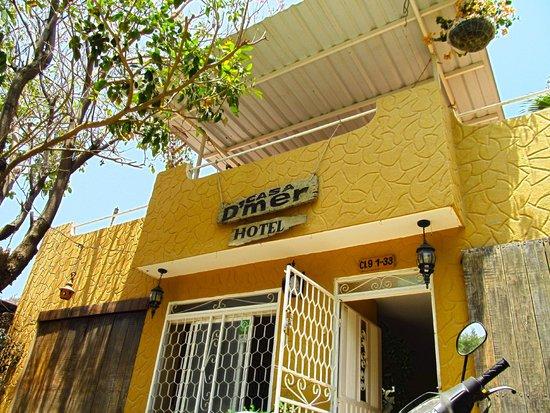 Hotel Casa D'mer Taganga: Fachada del hotel