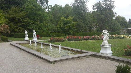 Botanischer Garten Muenchen-Nymphenburg: Next to the restaurant