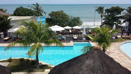 D Beach Resort: Vista da recepção
