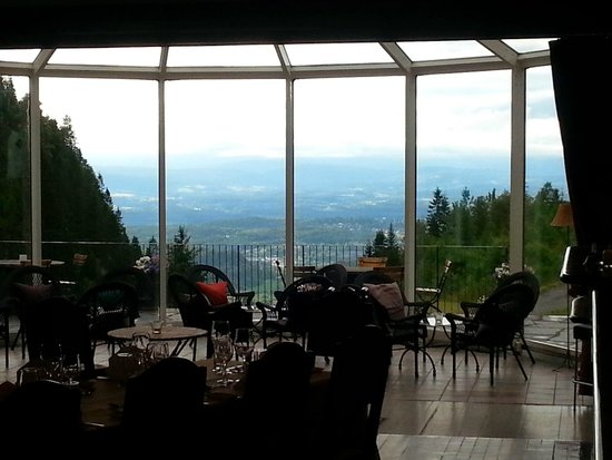 Kleivstua Hotel: Utsikt, restaurant Dronningen