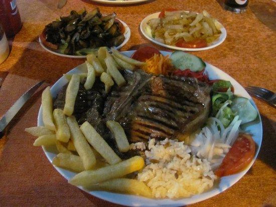 The Blue Star Restaurant: My favourit steak