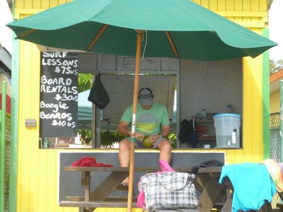 Barry's Surf Barbados Surf School : Barry