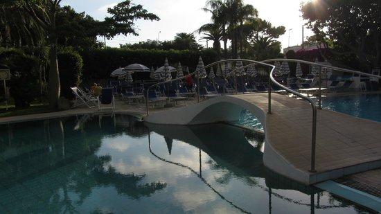 Piscina del Park Hotel Terme Mediterraneo