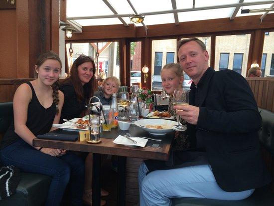 Restaurant Prinses Juliana.: Familie