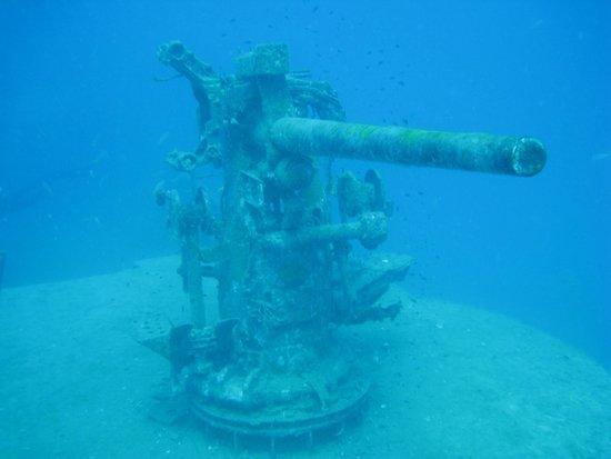 Bophut Diving Tours: HTMS Sattakut wreck dive