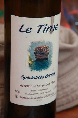 Le Time: La cuvée spéciale du restaurant, une insulte au vin corse