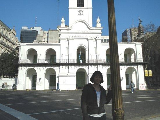 Cabildo: Em frente a Praça de Mayo