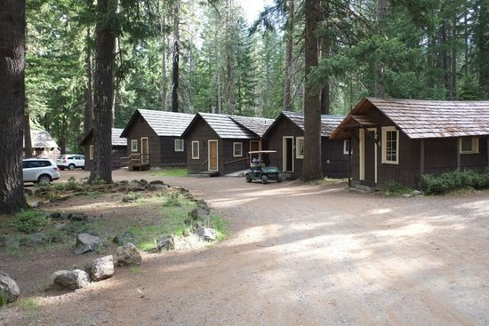 Union Creek Resort: The cabins