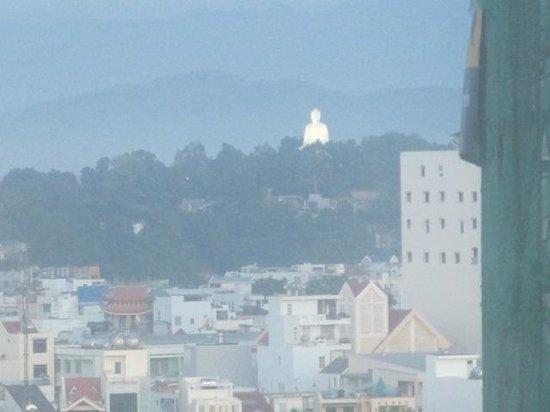 Yasaka Saigon Nha Trang Hotel: Buddah in the distance