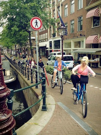 Mike's Bike Tours & Rentals : Best picture from our trip to Amsterdam on this bike tour