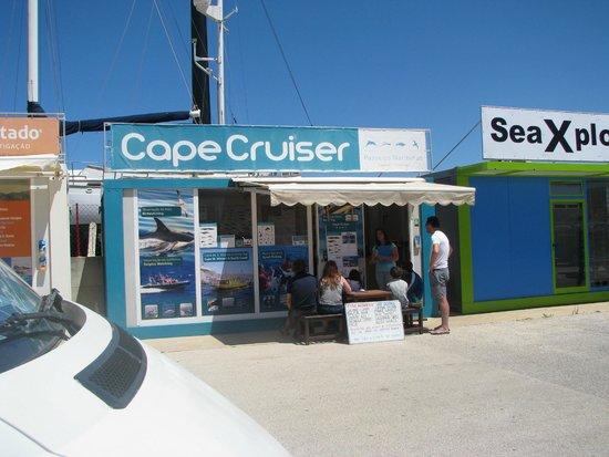 Cape Cruiser: Their office