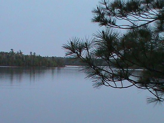Vermilion Dam Lodge: view from the Norway