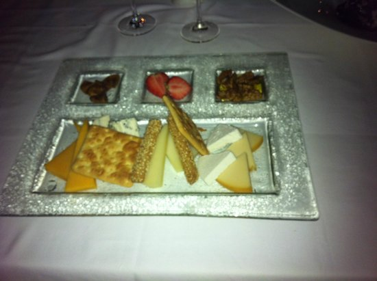 Amathus Elite Suites: cheese & biscuits