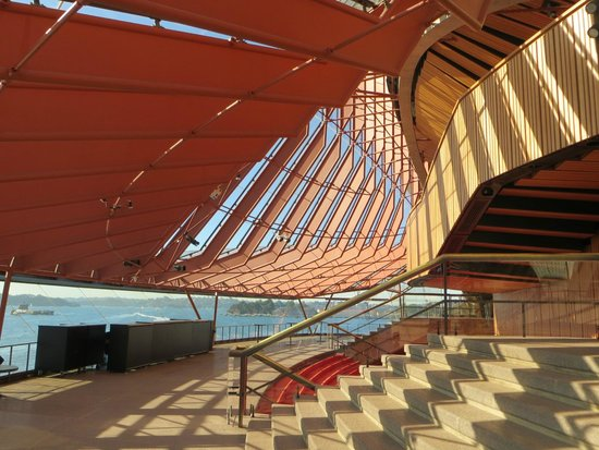 Sydney Opera House : The front viewing platform