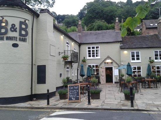 The White Hart Ironbridge: front of pub/inn very nice
