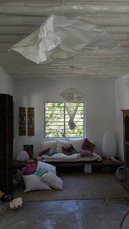 La Papaye Verte: Main House Living Room