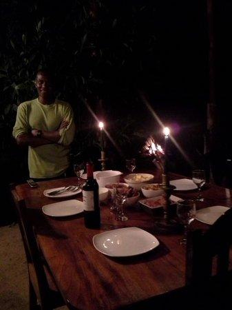 Establo San Rafael: dinner