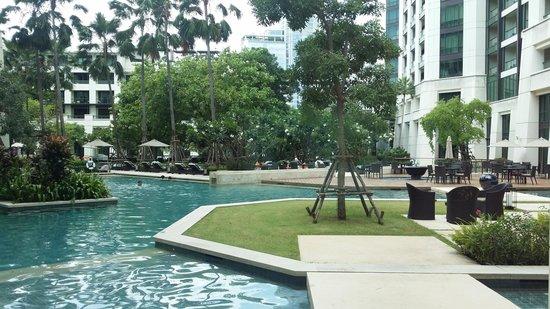 Siam Kempinski Hotel Bangkok : Beautiful Siam Kempenski Hotel