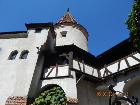 Château de Bran : view