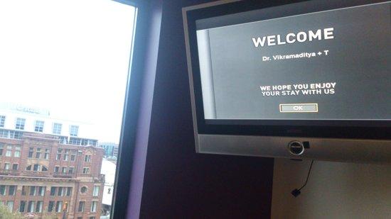 Mercure Sydney: nice welcome