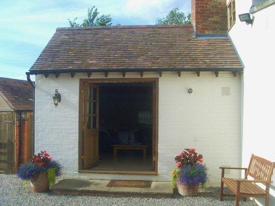 Deerhurst Walton, UK: outside of our suite