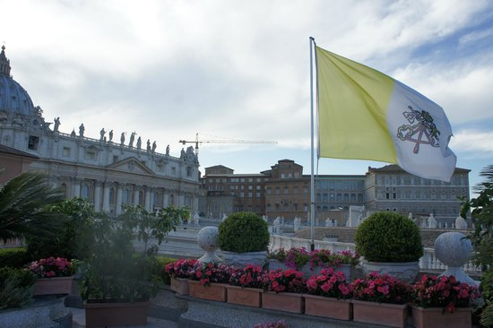 Residenza Paolo VI : view from the roof terrace