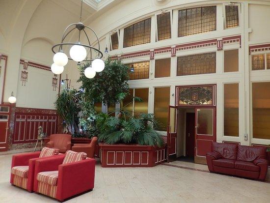 Rho Hotel: hotel rho - lobby 3
