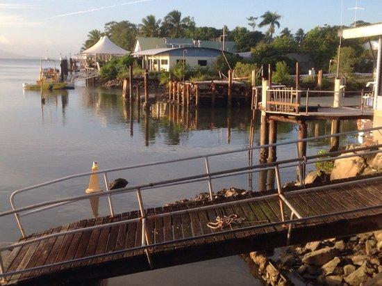 On The Inlet : Autre vue du restaurant : lieu de baignade de George