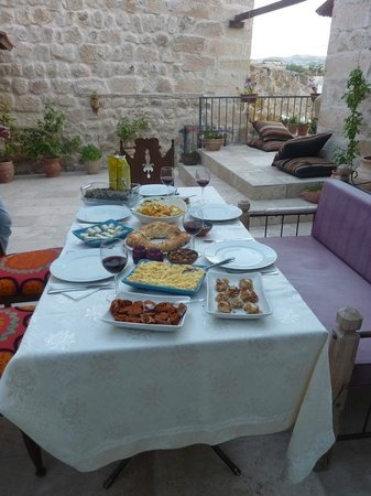 Lamihan Hotel Cappadocia: terrace