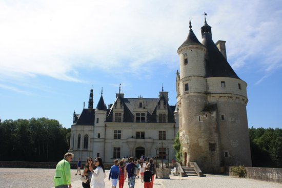 Chateau de Chenonceau: From the Front