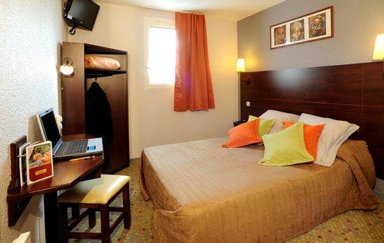 Hotel balladins Blois / Saint-Gervais: Chambre lit double