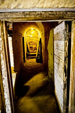 Hobart Convict Penitentiary: Cells under the ground