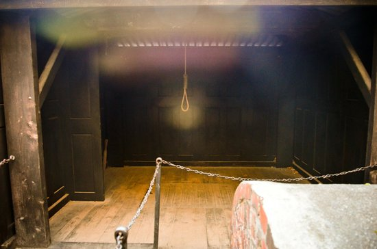 Hobart Convict Penitentiary: The execution yard
