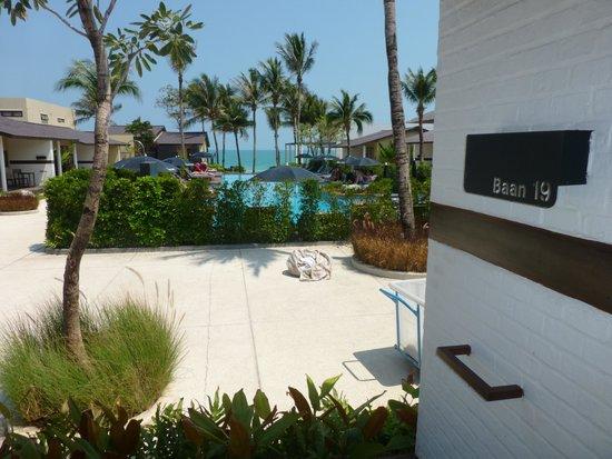 Baan Talay Resort : vue de la chambre