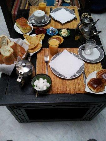 Riad Balkisse : Yummy breakfast freshly made
