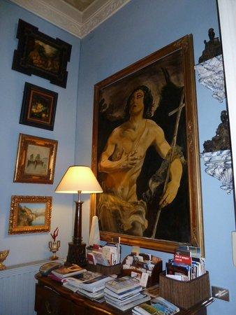 Casa D'Anna: entrée / salle du petit dejeuner