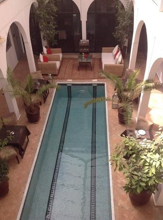Riad Utopia Suites & Spa : la piscine