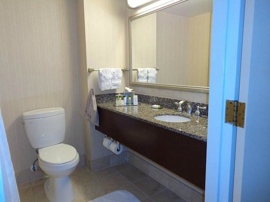 Doubletree by Hilton Hotel Los Angeles - Commerce : sink ... large countertop