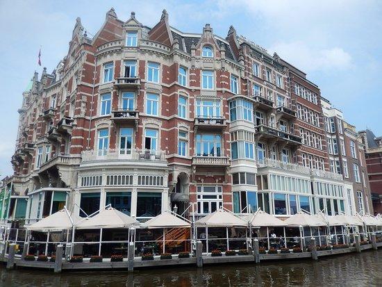 The Amstel: amstel - hotel de l'europe e battello