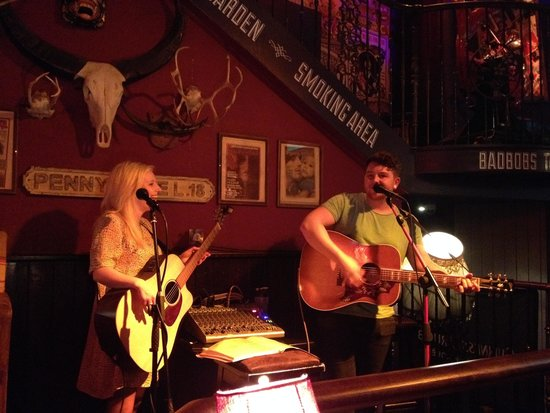 Bad Bobs Temple Bar: Top notch vocalists and musicians