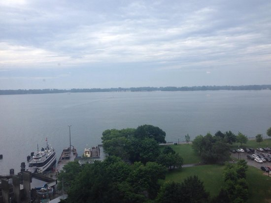 The Westin Harbour Castle: View from our room