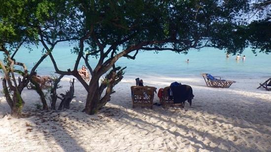 Haadtien Beach Resort: Haad Tien beach